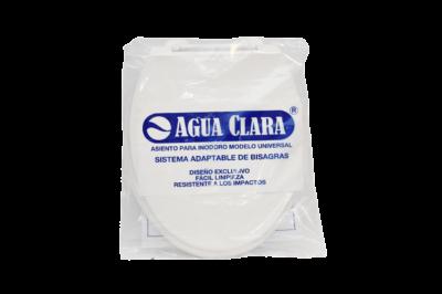 Embalaje asiento oval blanco - Agua Clara