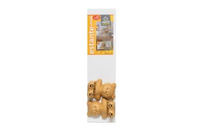 Embalaje Repisa infantil oso 80x20 blanca - Agua Clara