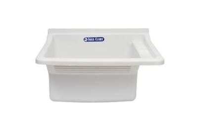 Pileta Lavadero blanca - Agua Clara