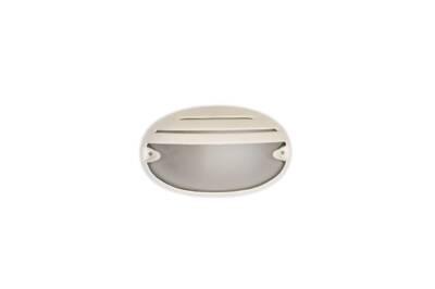 Tortuga oval con visera blanca - Agua Clara