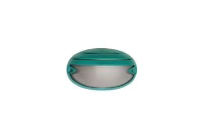 Tortuga oval con visera verde - Agua Clara