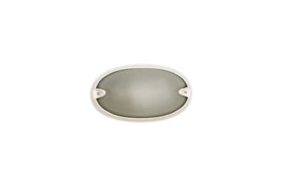 Tortuga oval lisa Blanca - Agua Clara