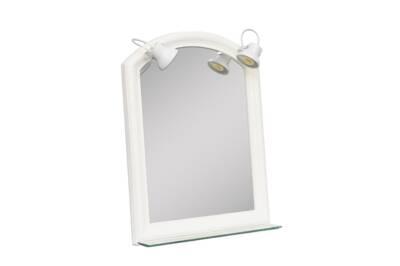 Espejo roma nº1 - con luz y repisa - Agua Clara