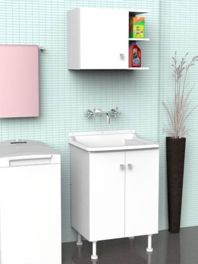 Mueble con Pileta   Agua Clara