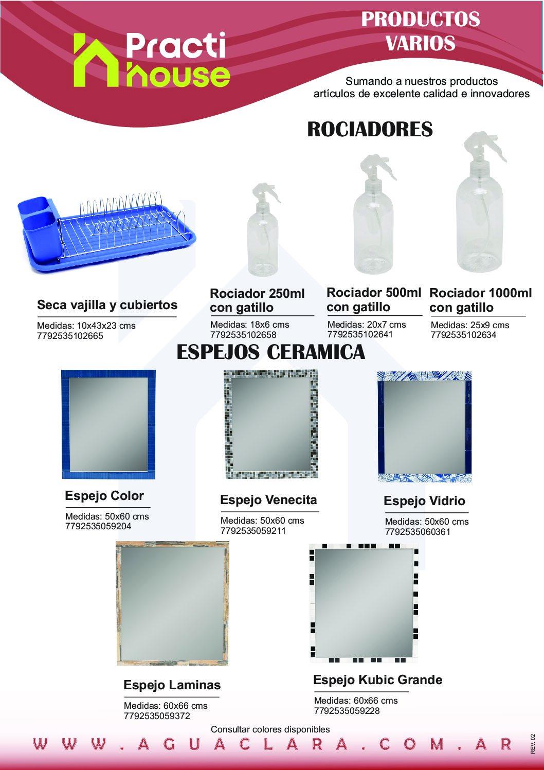 Folleto productos varios Rev. 03 pdf